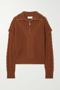 Michael Kors Collection - Belted Ruffled Floral-print Silk Crepe De Chine Midi Dress - Pink