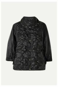 Moncler Genius - + 6 Noir Kei Ninomiya Appliquéd Quilted Shell Down Jacket - Black