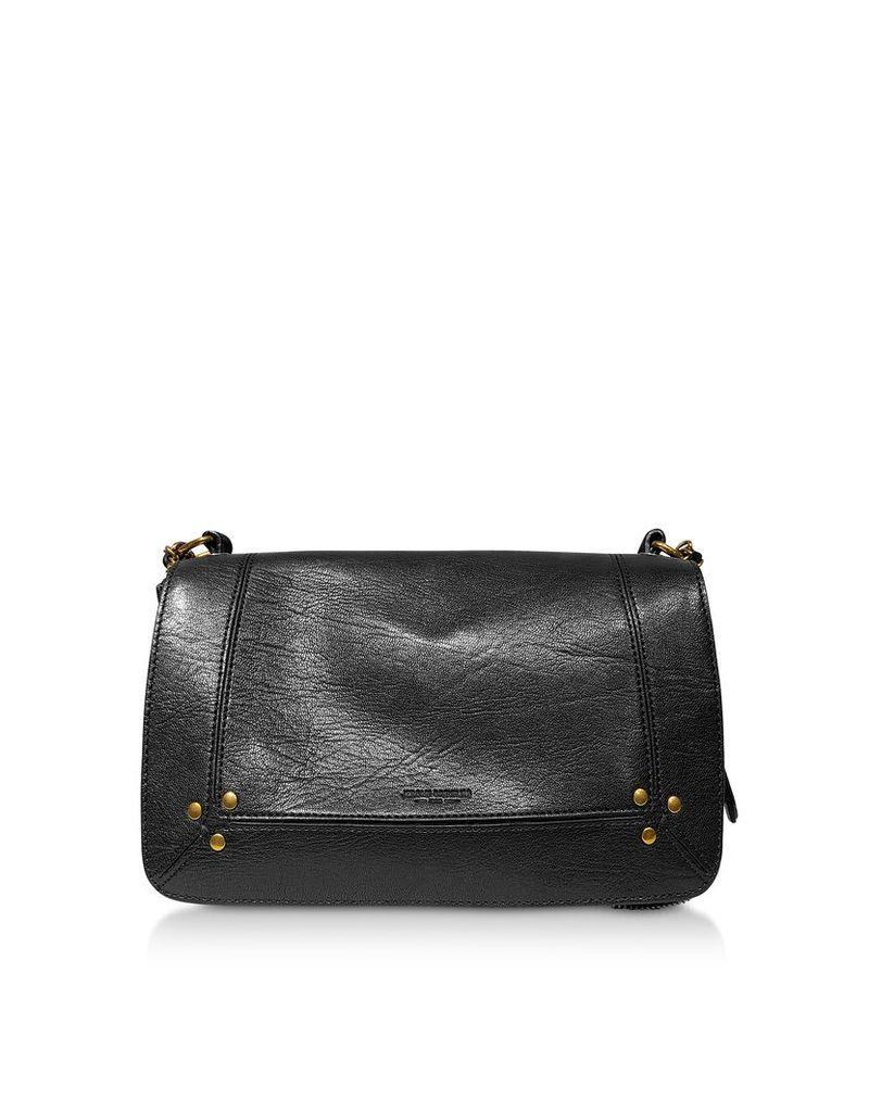 Jerome Dreyfuss Designer Handbags, Bobi Leather Shoulder Bag