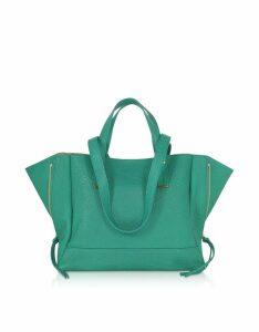 Jerome Dreyfuss Designer Handbags, Georges M Lagon Leather Tote Bag
