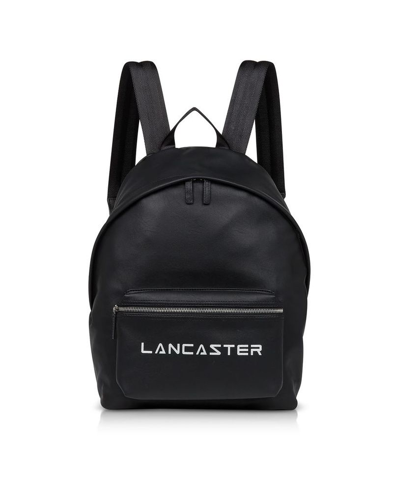 Lancaster Paris Designer Handbags, Street Black Backpack