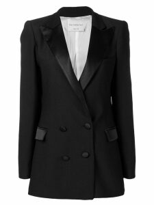 Hebe Studio double-breasted fitted blazer - Black