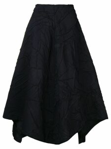 Stefano Mortari wrinkled effect skirt - Blue