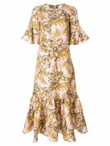 La Doublej Curly Swing Polinesia dress - Pink
