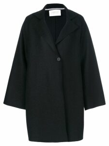Harris Wharf London buttoned coat - Black
