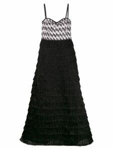 Missoni fringed maxi dress - Black