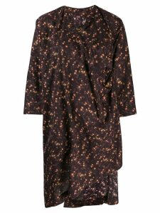 Vivienne Westwood Anglomania 'Mini Kaftan Dress' - Brown