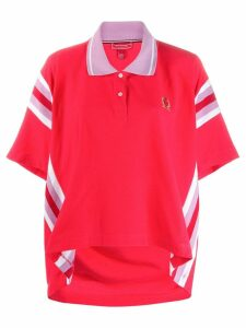 Tommy Hilfiger oversized polo shirt - Red