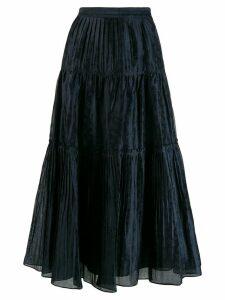 Ulla Johnson flared midi skirt - Blue