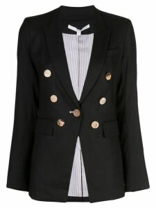 Veronica Beard classic double-breasted blazer - Black