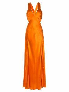 Alberta Ferretti evening gown - Orange