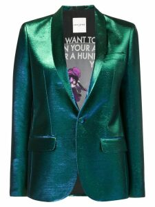 Each X Other slim-fit button blazer - Green