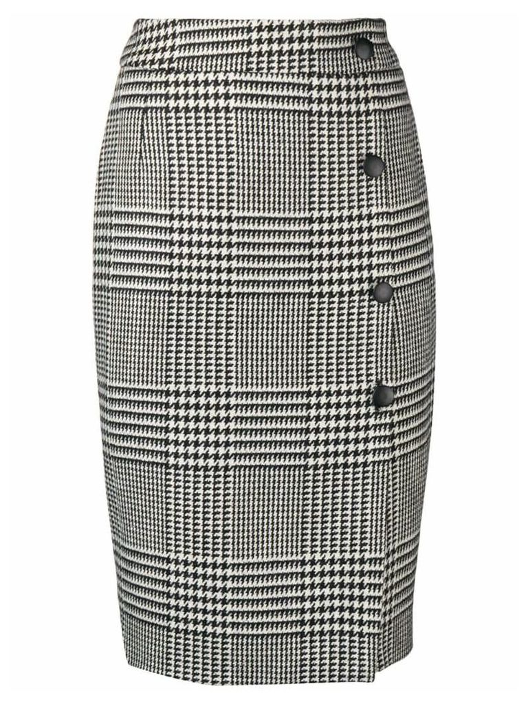 Each X Other houndstooth pencil skirt - Black