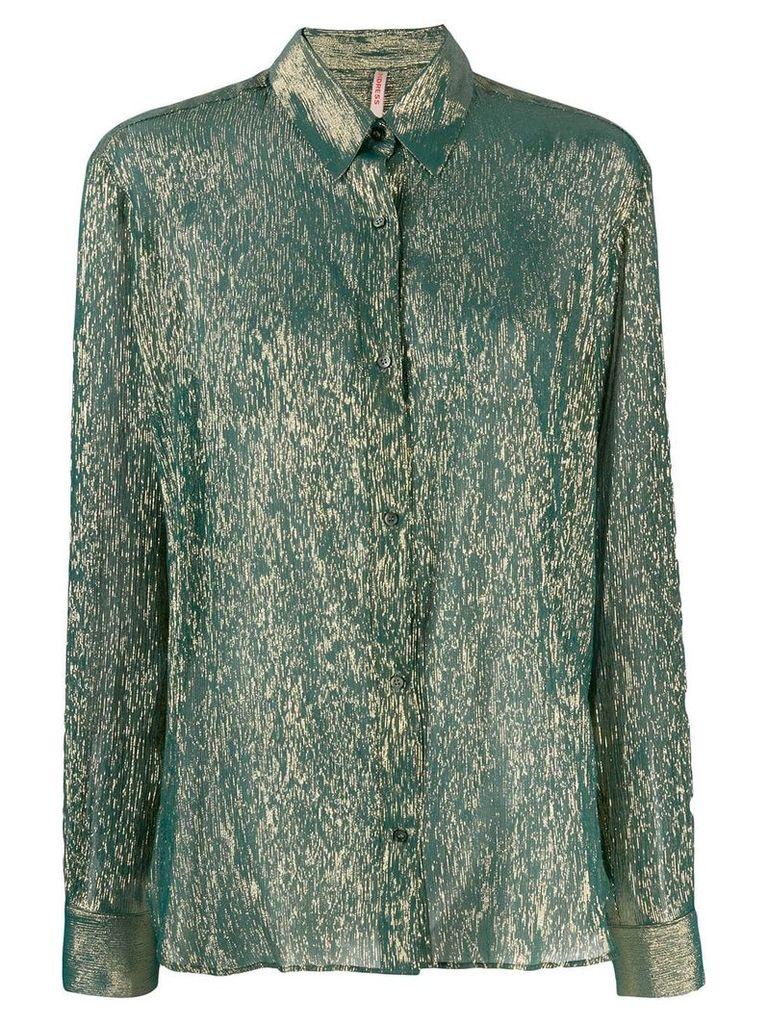 Indress classic collar shirt - Green