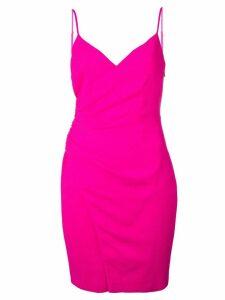 Black Halo mini wrap dress - Pink