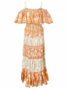 Alice+Olivia floral summer dress - Orange