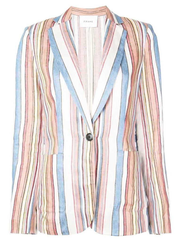 FRAME striped blazer - Multicolour