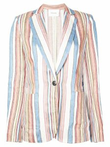 FRAME striped blazer - Multicolour