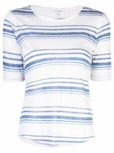 FRAME striped T-shirt - White