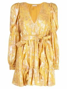 Ulla Johnson floral mini dress - Yellow