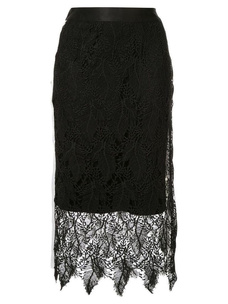 Guild Prime lace midi skirt - Black