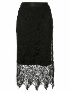 Guild Prime lace midi skirt - Black