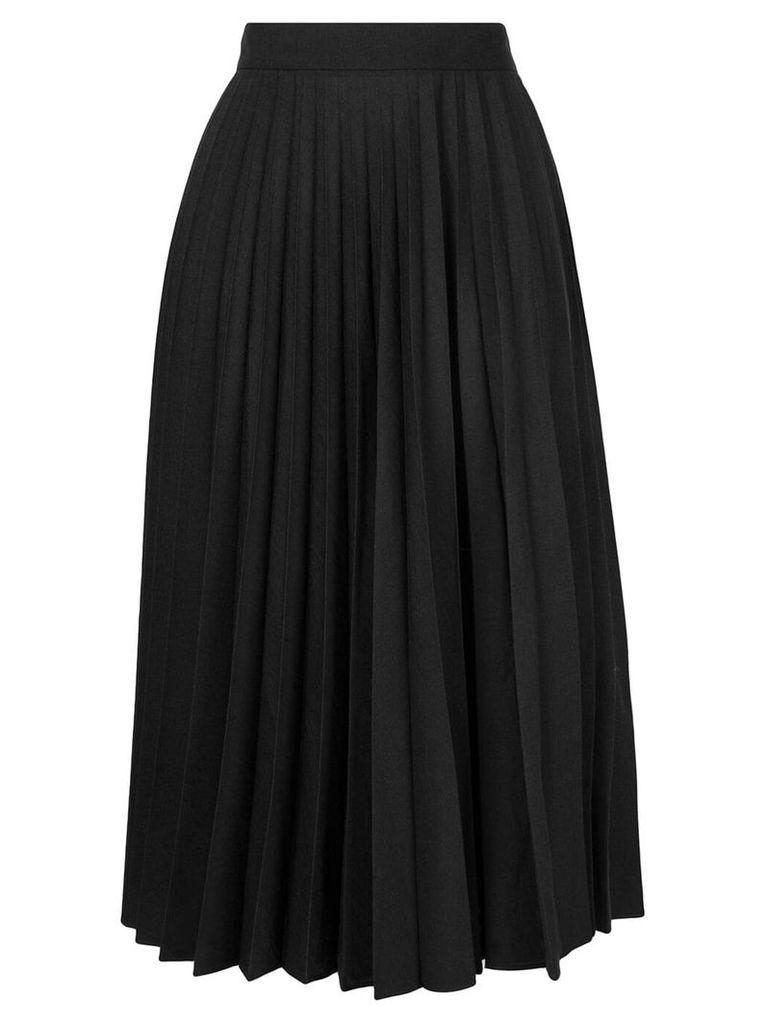 Margaret Howell pleated midi skirt - Black
