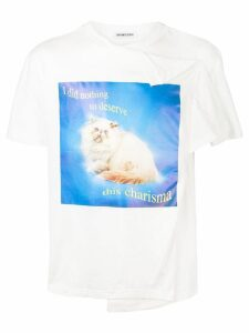 Ground Zero slogan T-shirt - White