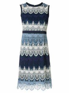 Loveless short crochet dress - Blue