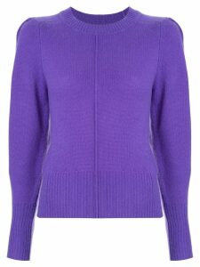 Isabel Marant fine knit sweater - Purple