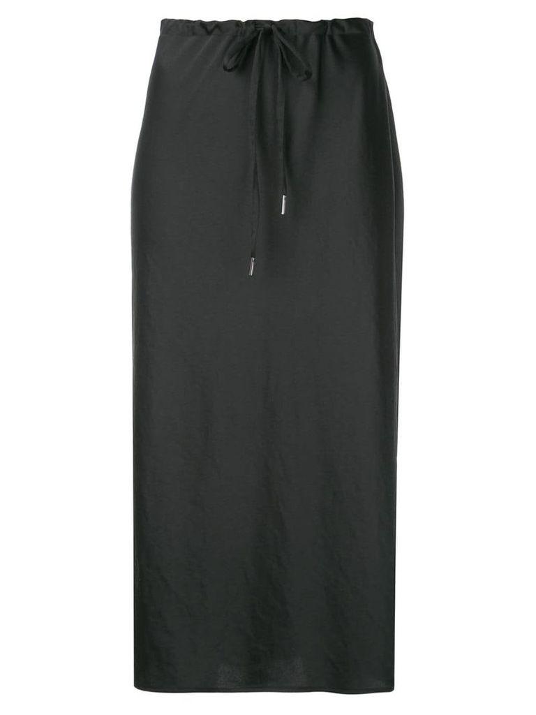 Alexander Wang long pencil skirt - Black