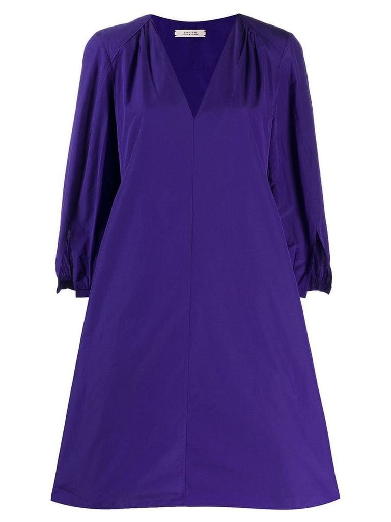 Dorothee Schumacher flare styled dress - Purple
