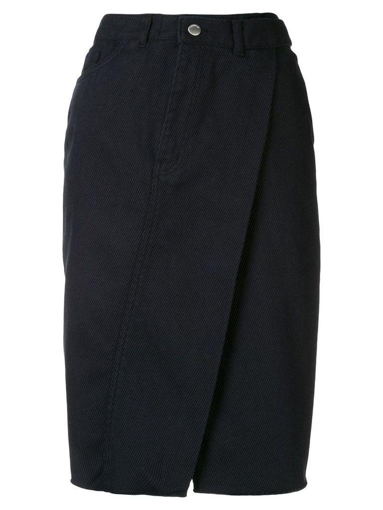 Ambush deconstructed skirt - Black