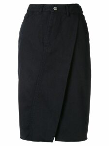 AMBUSH deconstructed skirt - Black