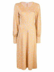 Stine Goya Ester midi dress - Yellow