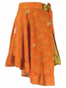 Loewe Ibiza skirt - Orange