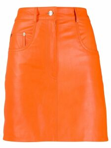 Manokhi high rise pencil skirt - ORANGE