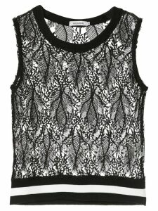 Guild Prime sleeveless lace top - Black