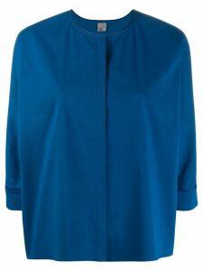 Quelle2 concealed front blouse - Blue