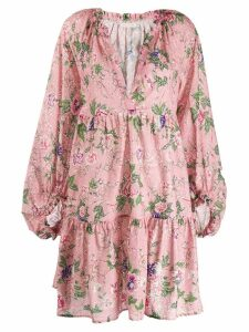 Anjuna floral smock dress - Pink