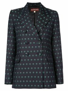 Alexa Chung double breasted blazer - Black