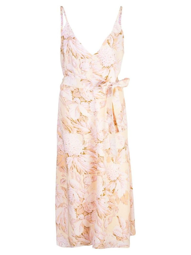 Stine Goya Gianna floral print dress - Neutrals