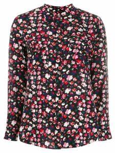 Equipment floral print shirt - Black