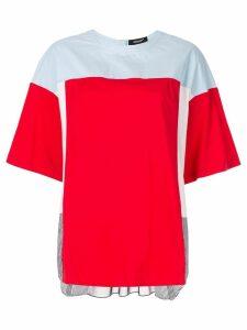 Undercover oversized colour block T-shirt - Multicolour