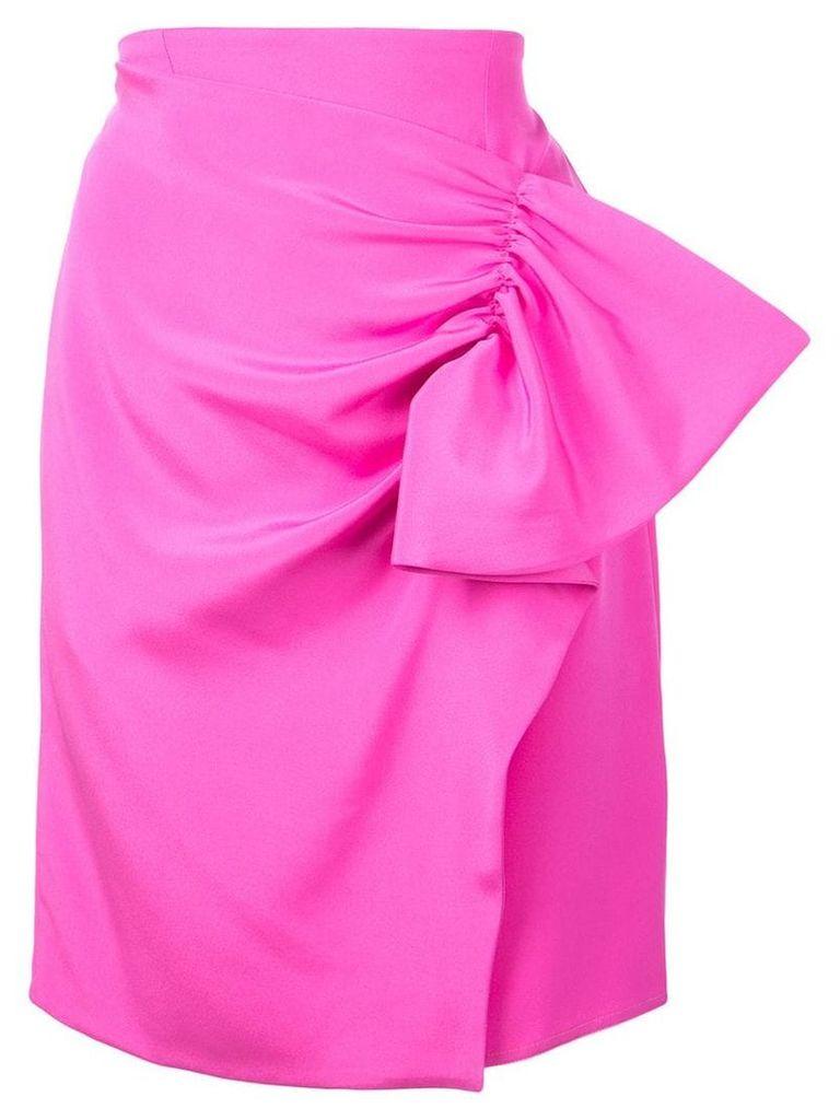 Silvia Tcherassi ruched detail skirt - Pink
