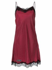 Ground Zero lace trim camisole dress - Red