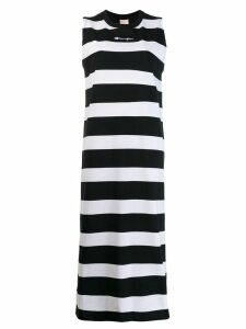 Champion stripe tank jersey maxi dress - Black