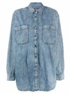 Isabel Marant Lynton shirt - Blue