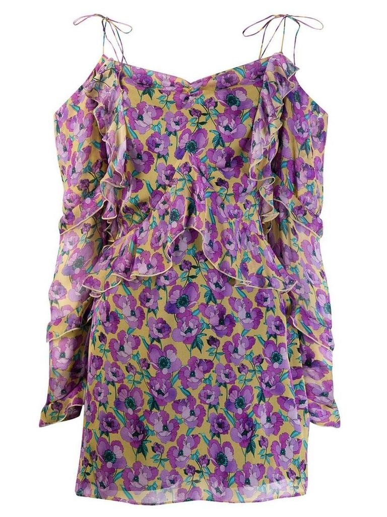 Raquel Diniz Talia mini dress - Purple