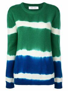 Prabal Gurung tie-dye cashmere jumper - Blue